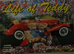 2018 Paperback Wall Calendar - Life Of Teddy