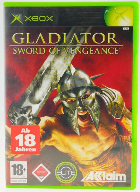 Gladiator - Sword Of Vengeance | Microsoft X-Box XBox in OVP gut