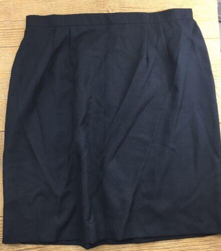 Willow Ridge Women's Skirt Size 22W Black Pencil S