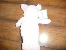 "NEW Plush 9"" Carters girls Pink Bunny Rabbit Doll NWT SOOO SOFT! adorable"
