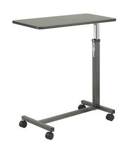Sale Non Tilt Overbed Table Adjustable Height Homecare Over Bed Tray