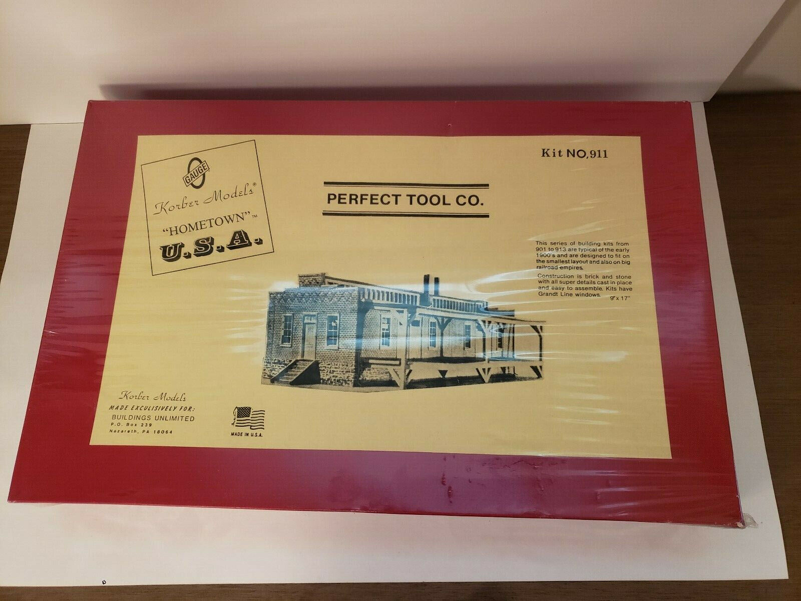Korber Models Perfect Tool Co. Kit No. 911 New & Sealed