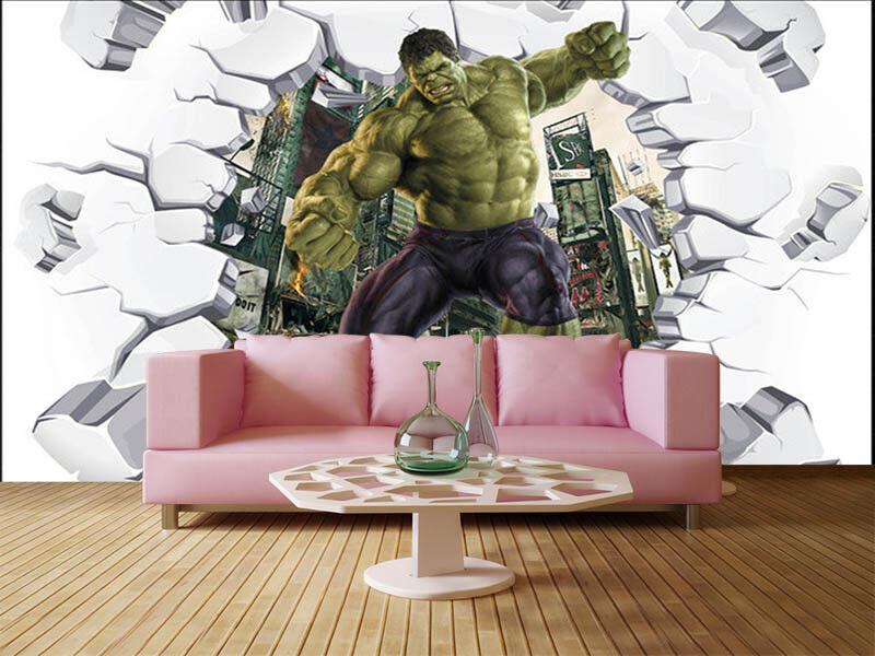 Tall Grün Giant 3D Full Wall Mural Photo Wallpaper Printing Home Kids Decor