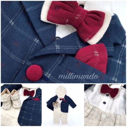 Taufanzug Jungenanzug Babyanzug Anzug hervorrangende Qualität 62 68 74 TOP
