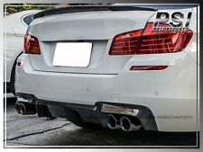 2012+ BMW F10 M5 Bumper Carbon Fiber 3D Style Rear Diffuser Replacement