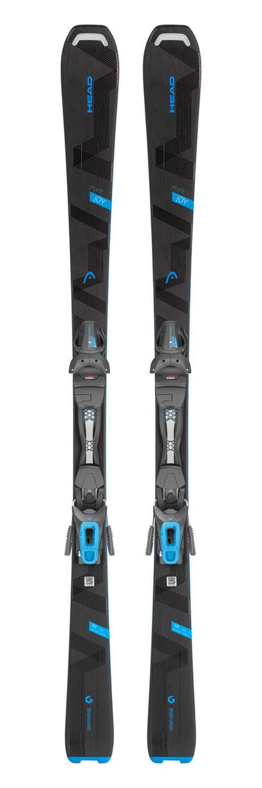 Head Damen Ski PURE JOY schwarz   Blau + Head JOY 9 GW SLR Bindung im Set