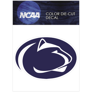 Details About Penn State Nittany Logo Ncaa Die Cut Vinyl Car Sticker Bumper Window