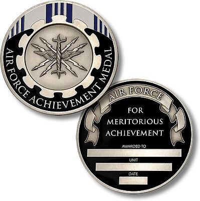 U.S. Air Force / Achievement Medal - USAF Engravable Challenge Coin