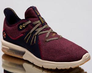 Vicio prisa financiero  Nike Wmns Air Max Sequent 3 Premium V Women New Red Running Sneakers  AR0255-600 | eBay