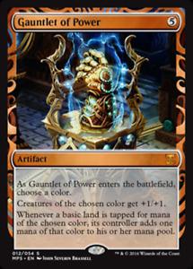 Gantelet-de-Pouvoir-PREMIUM-FOIL-Gauntlet-of-Power-Invention-Magic-mtg