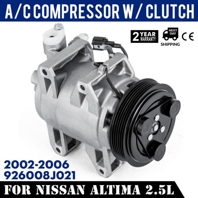 A//C Compressor Fits 2002-2006 Nissan Altima 2.5L DKS17D 57461 New