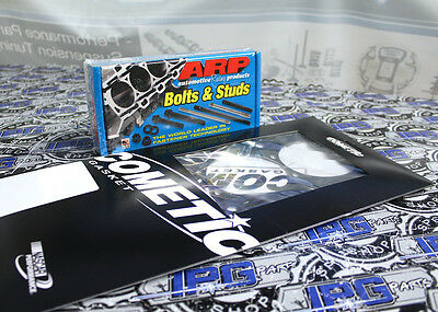 "ARP Head Studs /& Cometic Head Gasket 86mm .030/"" 2002-2006 Acura RSX K20A"
