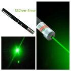 Laser Pointer Pen Visible Beam Light 5mW Lazer High Power 532nm green New
