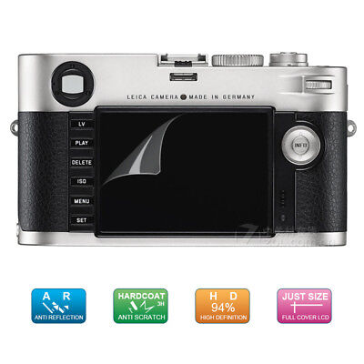 2X BROTECT HD-Clear Screen Protector for Leica M9-P Crystal-Clear Dirt-Repellent Hard-Coated