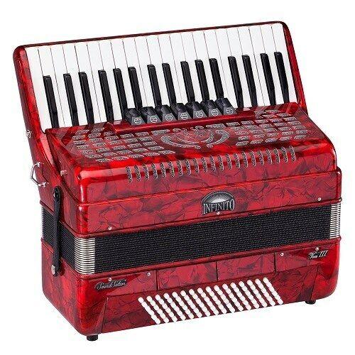 Soundsation Infinito Voce  III 3796-RD Fisarmonica 96 bassi