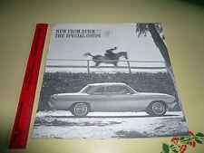 1961 Buick Special Sales Brochure Vintage - Intoductory Brochure