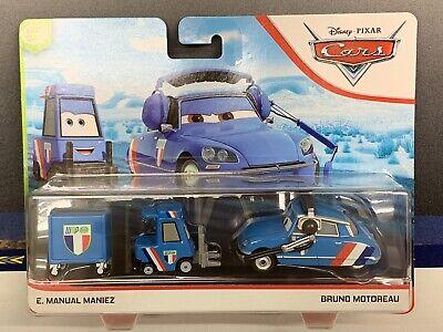 Disney Pixar Cars E Manuel Maniez Bruno Motoreau New Arrival