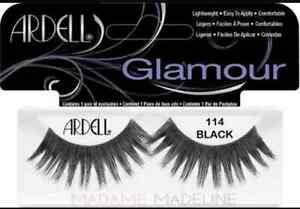 Lot-of-40-Ardell-Glamour-Wimpern-114-Falsche-Wimpern-Echt-ARDELL-WIMPERN