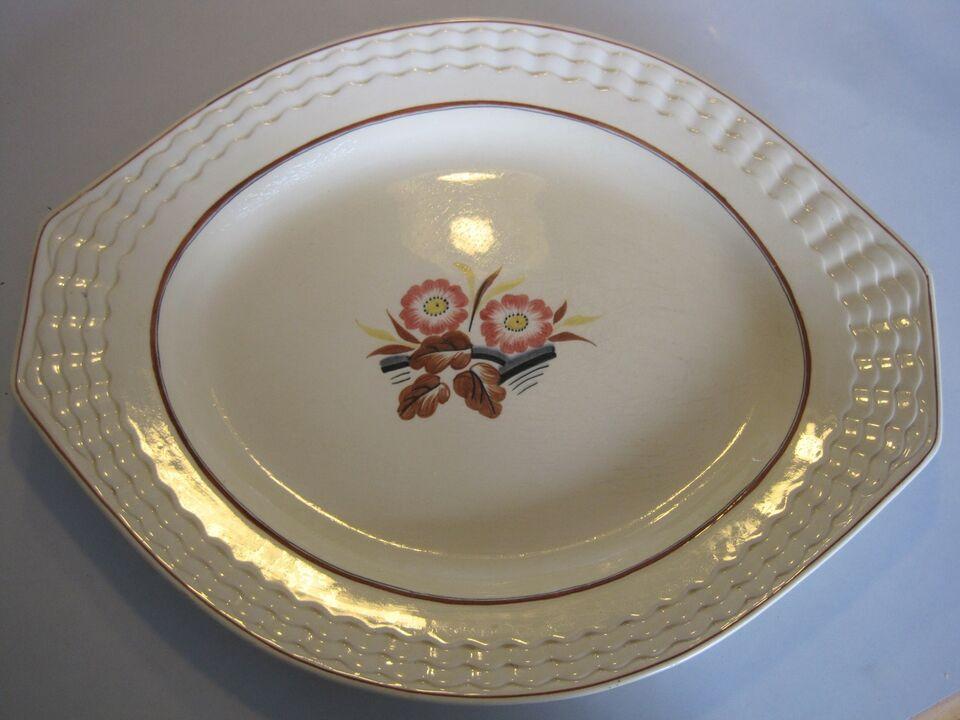 Porcelæn, serverings fad, Titlan Ware