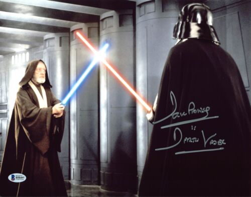 David Prowse Star Wars Darth Vader Authentic Signed 11X14 Photo BAS 4