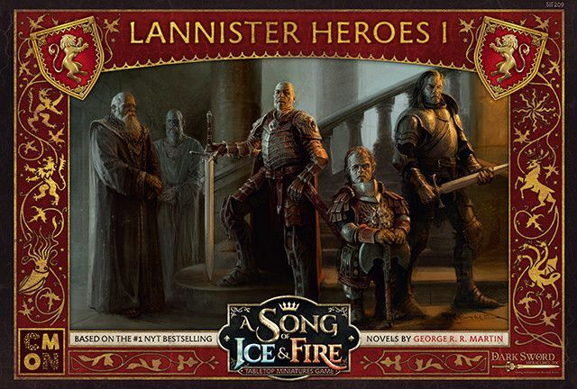 A Song Of Ice And Fuego Lannister Héroes 1 (Inglés) Cool Mini Or Not Westeros