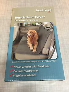 Brilliant Details About Travel Hound Bench Seat Cover Dirt Dog Protect Comfortable Washable New Gmtry Best Dining Table And Chair Ideas Images Gmtryco
