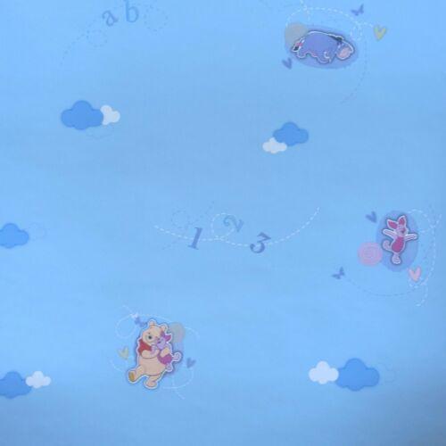 Wallpaper Remnants 6 Roll Winnie Pooh Eeyore Blue Kids At Home 00799 Ebay