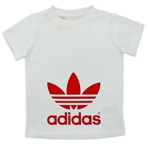 Image Is Loading Adidas Originals I Trefoil T Shirt Baby Kids