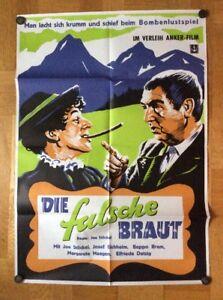 Falsche-Braut-Kinoplakat-039-50-Joe-Stoeckel-Beppo-Brem