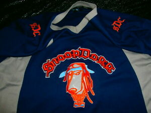 Details about Snoop Dogg Hockey Football Basketball Jersey Sewn Stitched Navy Wolf Orange XL