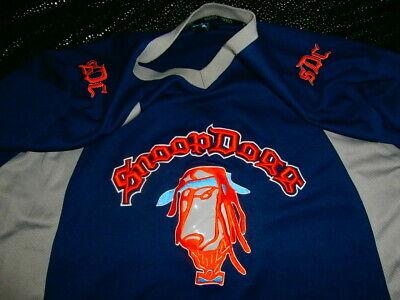 Snoop Dogg Hockey Football Basketball Jersey Sewn Stitched Navy Wolf Orange XL   eBay