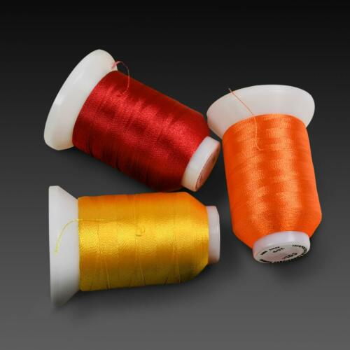 550Y each Spools 260 Spools Polyester /& Embroidery Sewing Machine Thread set