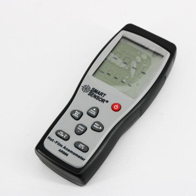 WXQ-XQ Digital Thermal Anemometer Wind Speed Tester AR866A