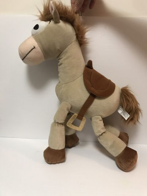 Disney Store Pixar Toy Story Bullseye Horse Big Plush 17 Stuffed