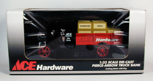 Ace Hardware Pierce-Arrow Truck Coin Bank 1:33 Scale Limited Edition