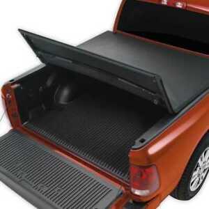 6 Ft Short Bed Tri Fold Tonneau Cover Fits 05 15 Toyota Tacoma Std