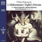 A Midsummer Night's Dream: Performed by Warren Mitchell & Cast by William Shakespeare (CD-Audio, 1997)