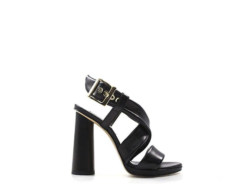 zapatos GIAMPAOLO VIOZZI Femme negro  GE183-NR