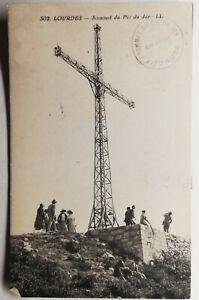 827-Antica-Cartolina-Pesanti-Sommet-Del-Pic-Del-Jer