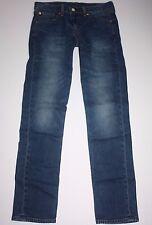 "LEVIS 511 JEANS Mens Size 30 x 32"" SKINNY LOW RISE Dark Blue Stretch Denim EUC!"