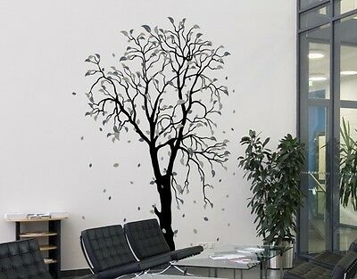Beech Tree Wall Decal, Floral Decals, sticker, mural