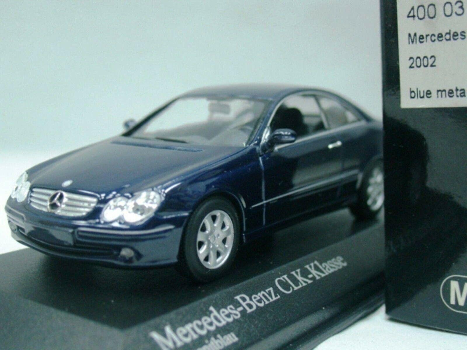 Vaya, Mercedes w209   c209 clk240 2002 azul 1  43, mini campeón - 300, AMG, S.
