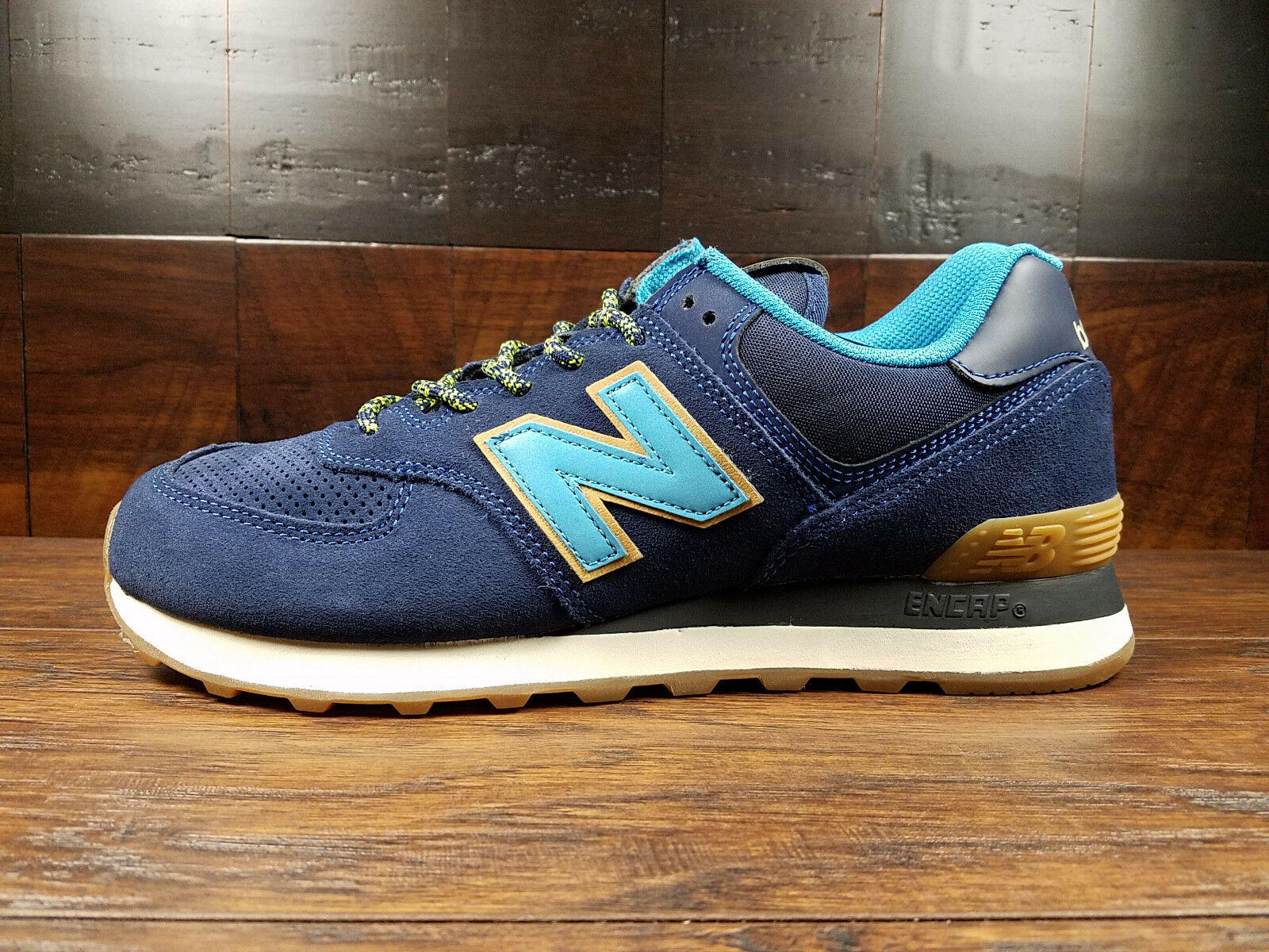 New Balance ML574OTA  Outdoor Pack  (Navy bluee   Light bluee) Suede 574 Mens 8-12
