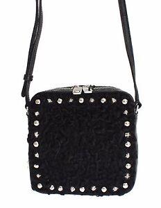 49d442eefc NEW  2600 DOLCE   GABBANA Bag Black Caiman Python Ostrich Ashkatran ...