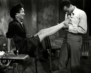 dorothy dandridge and harry belafonte in carmen jones 8x10 photo