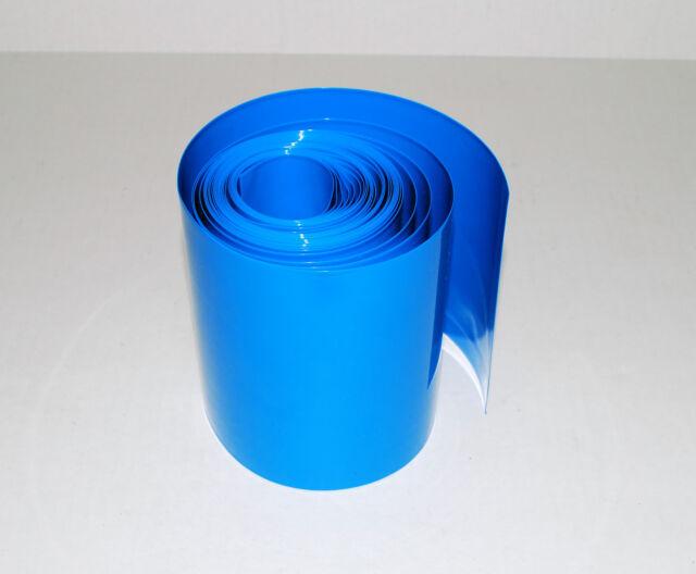 Flat width 103mm Φ65mm PVC Heat Shrink Tubing For 18650 Battery