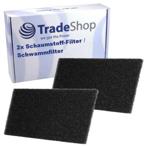 2x Schaumstoff-Filter für Whirlpool AZA HP 7991 8002 8004 8040 8140W 8672 8673