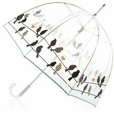 "Umbrella Rain Totes Bubble Clear Dome Transparent Canopy 51"" Protection Classic"