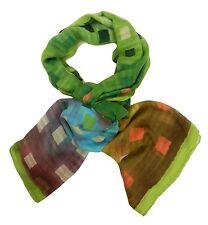Women's scarf green orange yellow blue von Ella Jonte colourful e season Viscose