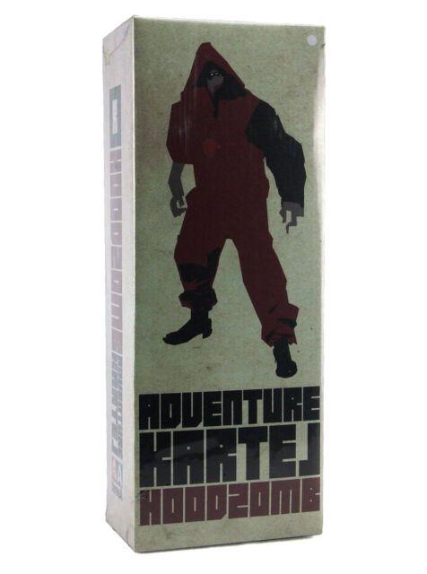 """12/"""" Figure 1:6 THREEA TOYS Adventure KARTEL HoodZomb Black Ashley Wood Design"""
